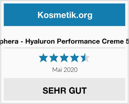 Cosphera - Hyaluron Performance Creme 50 ml Test