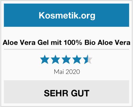 Aloe Vera Gel mit 100% Bio Aloe Vera Test