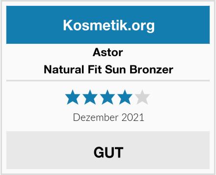 Astor Natural Fit Sun Bronzer Test