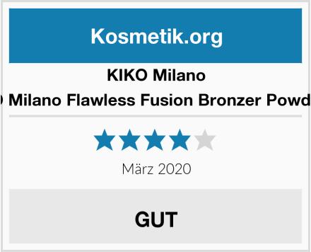 KIKO Milano KIKO Milano Flawless Fusion Bronzer Powder 02 Test