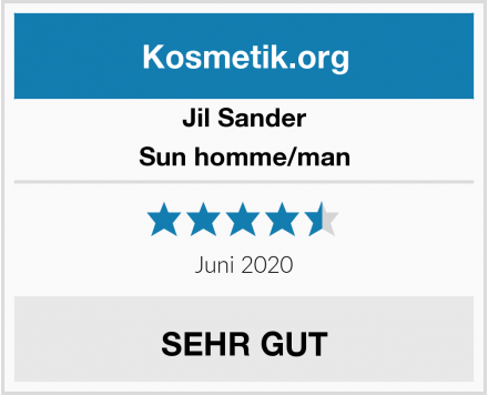 Jil Sander Sun homme/man Test