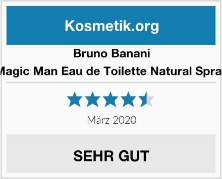 Bruno Banani Magic Man Eau de Toilette Natural Spray Test