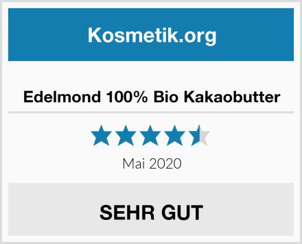 Edelmond 100% Bio Kakaobutter Test