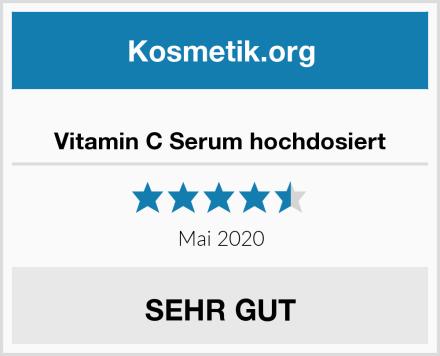 Vitamin C Serum hochdosiert Test