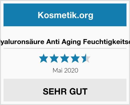 BIO Hyaluronsäure Anti Aging Feuchtigkeitscreme Test