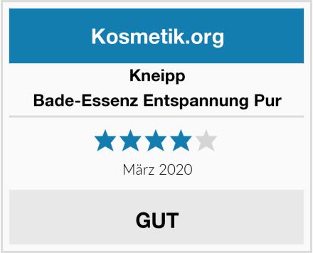 Kneipp Bade-Essenz Entspannung Pur Test