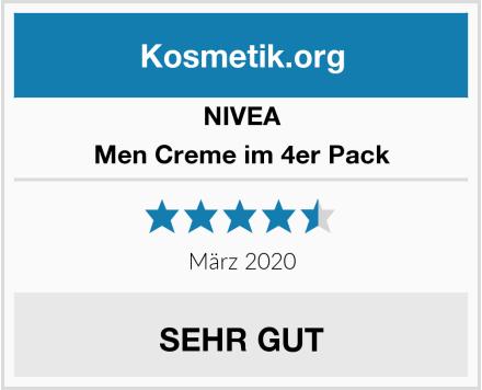 NIVEA Men Creme im 4er Pack Test