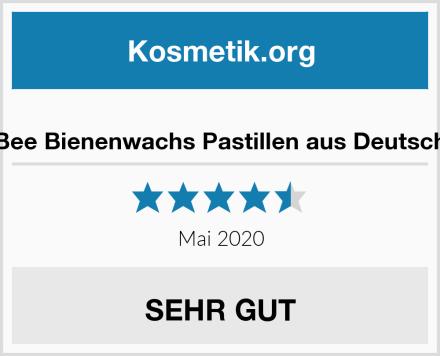 HapBee Bienenwachs Pastillen aus Deutschland Test