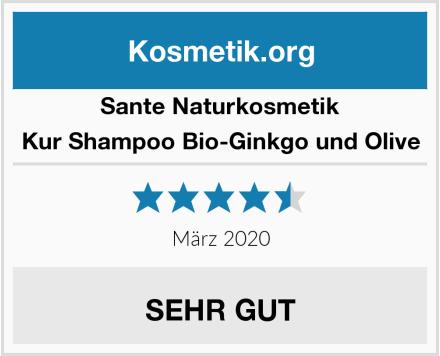 SANTE Naturkosmetik Kur Shampoo Bio-Ginkgo und Olive Test