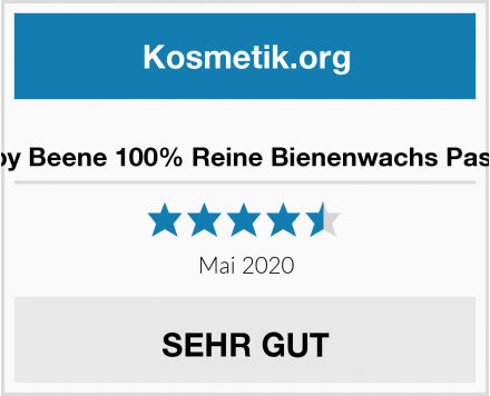 Happy Beene 100% Reine Bienenwachs Pastillen Test