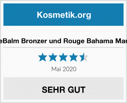 theBalm Bronzer und Rouge Bahama Mama Test