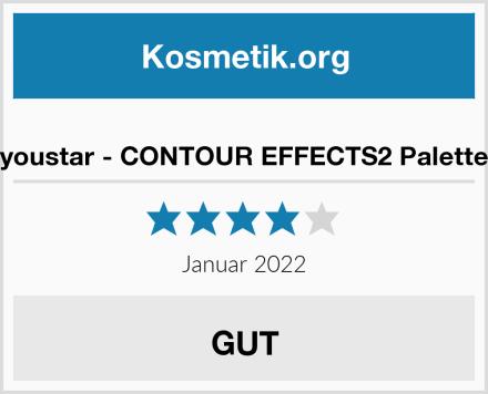 youstar - CONTOUR EFFECTS2 Palette Test