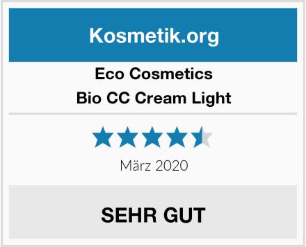 eco cosmetics Bio CC Cream Light Test