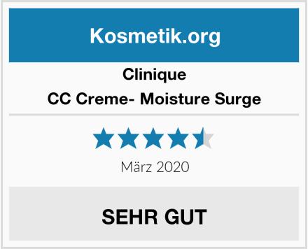 Clinique CC Creme- Moisture Surge Test