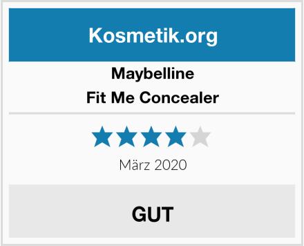 Maybelline Fit Me Concealer Test