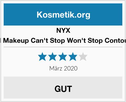 NYX Professional Makeup Can't Stop Won't Stop Contour Concealer Test