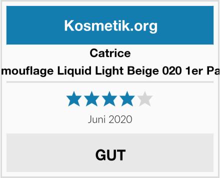 Catrice Camouflage Liquid Light Beige 020 1er Pack Test