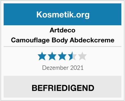 Artdeco Camouflage Body Abdeckcreme Test