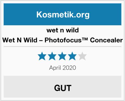 Wet N Wild Wet N Wild – Photofocus™ Concealer Test