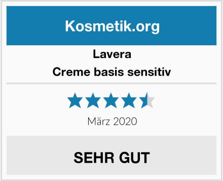 Lavera Creme basis sensitiv Test