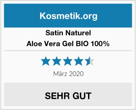 SatinNaturel Aloe Vera Gel BIO 100% Test