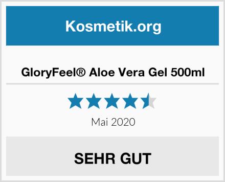 GloryFeel® Aloe Vera Gel 500ml Test