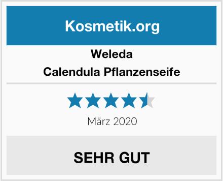 Weleda Calendula Pflanzenseife Test