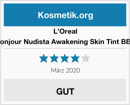 L'Oreal Paris Bonjour Nudista Awakening Skin Tint BB Cream Test