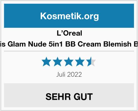 L'Oreal Paris Glam Nude 5in1 BB Cream Blemish Balm Test