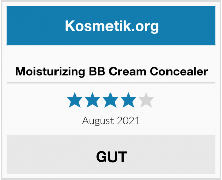 Moisturizing BB Cream Concealer Test