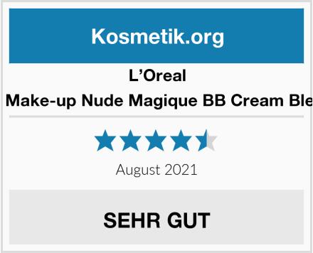L'Oreal Paris Gesichts Make-up Nude Magique BB Cream Blemish Balm hell Test