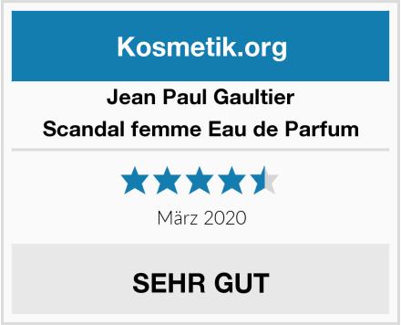 Jean Paul Gaultier Scandal femme Eau de Parfum Test