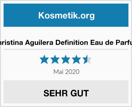 Christina Aguilera Definition Eau de Parfum Test