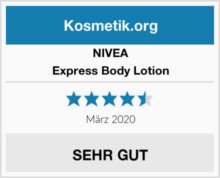 NIVEA Express Body Lotion Test
