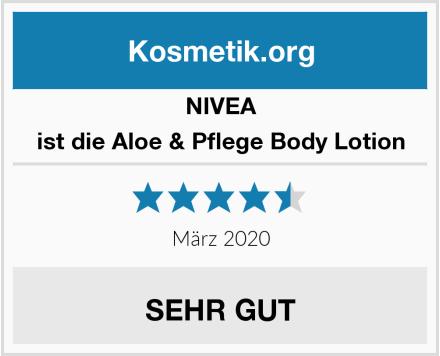 NIVEA ist die Aloe & Pflege Body Lotion Test