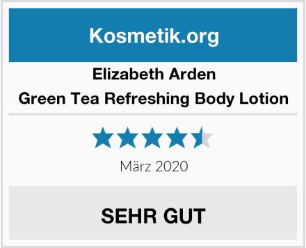 Elizabeth Arden Green Tea Refreshing Body Lotion Test