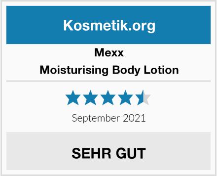 Mexx Moisturising Body Lotion Test