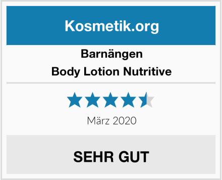 Barnängen Body Lotion Nutritive Test