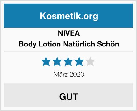 NIVEA Body Lotion Natürlich Schön Test