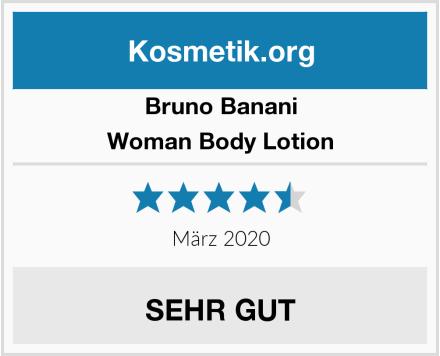 Bruno Banani Woman Body Lotion Test