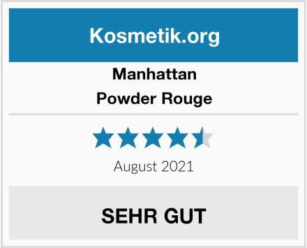 Manhattan Powder Rouge Test