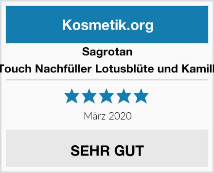 Sagrotan No-Touch Nachfüller Lotusblüte und Kamillenöl Test
