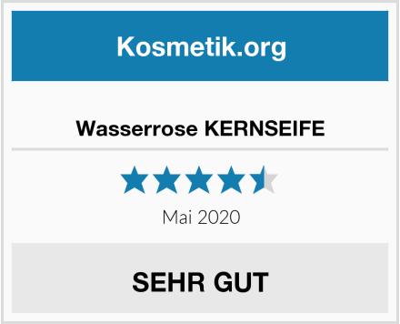 Wasserrose KERNSEIFE Test