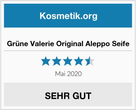 Grüne Valerie Original Aleppo Seife Test