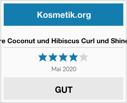 Shea Moisture Coconut und Hibiscus Curl und Shine Conditioner Test