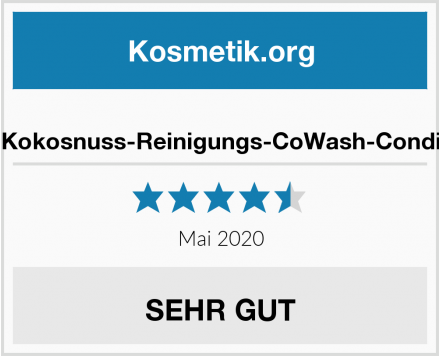 As I a Kokosnuss-Reinigungs-CoWash-Conditioner Test