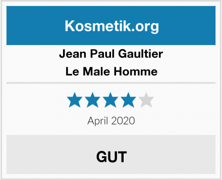 Jean Paul Gaultier Le Male Homme Test