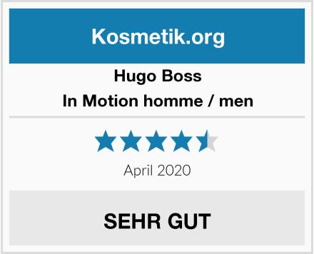 Hugo Boss In Motion homme / men Test