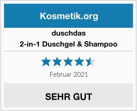 duschdas 2-in-1 Duschgel & Shampoo Test