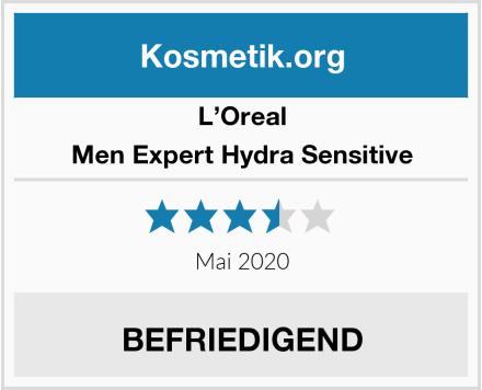 L'Oreal Men Expert Hydra Sensitive Test